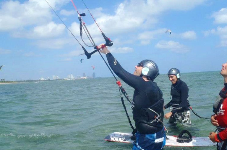 Group Lessons Kiteboarding, Kitesurfing